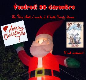 Arbre de Noël le vendredi 20 décembre