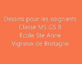 Dessins de soutien MS GS B
