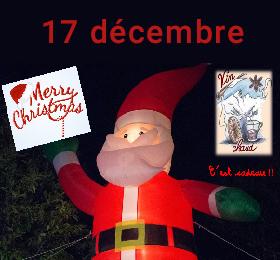 Arbre de Noël le vendredi 17 décembre